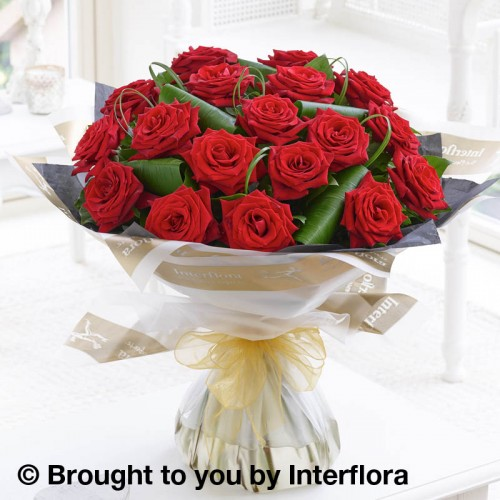 18 Luxury Long Stem Roses Hand-tied product image