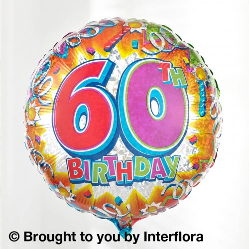 60th Birthday Balloon product image
