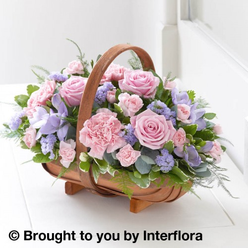 Mixed Basket - Pink and Lilac product image