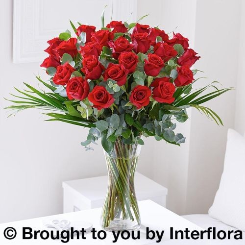 Extra Large Romantic Red Rose Vase product image